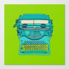 Typewriter number four Canvas Print