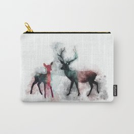 HP Patronus Stag and Doe Watercolor II Carry-All Pouch