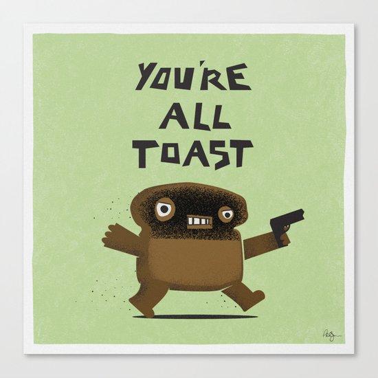 Toast Revenge Canvas Print