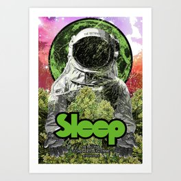 Sleep : The Botanist Art Print