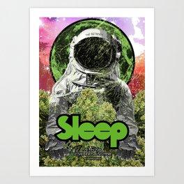 Sleep : The Botanist Art Print