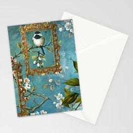 Blue, Birds, Balloon and Botanics Stationery Cards