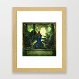 Heartwood Framed Art Print