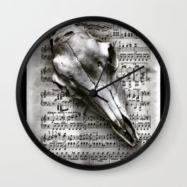 Noted Wall Clock