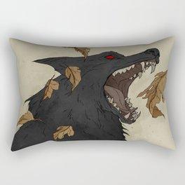 Black Shuck I Rectangular Pillow