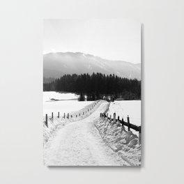 Garmisher Landscape  Metal Print