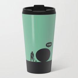 WTF? Golf Metal Travel Mug