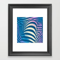 Shapes Of Things Framed Art Print