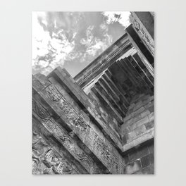 Mendut Temple Canvas Print