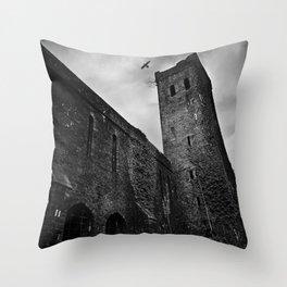 St Lukes Church, Abercarn, South wales, UK - 02 Throw Pillow