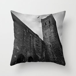 St Lukes Church, Abercarn, South wales, UK - 02 Throw Pillow