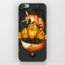 Have a Foxy Halloween iPhone Skin