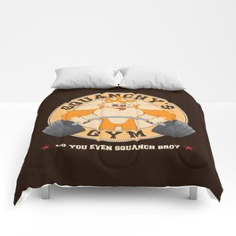 Squanchy's Gym Comforters