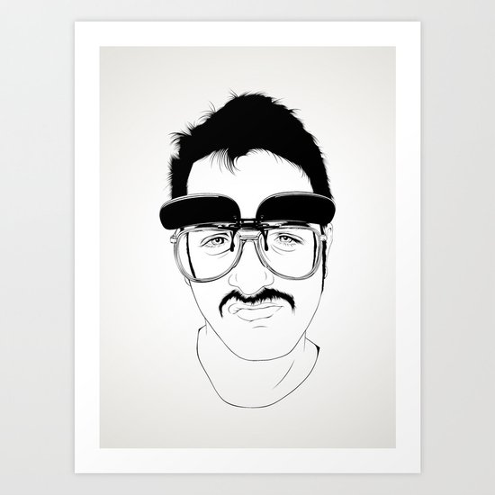 Bigotaco Art Print