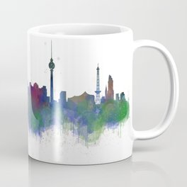 Berlin City Skyline HQ2 Coffee Mug