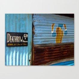 DeathRow Gym and Aerobics Canvas Print