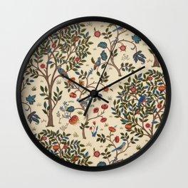 William Morris Kelmscott Tree Wall Clock