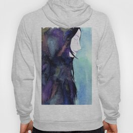 Galaxy woman Hoody