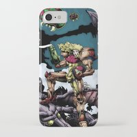 samus iPhone & iPod Cases featuring Samus by ADobson
