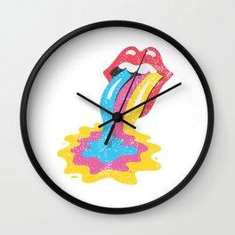 POP Lick Wall Clock