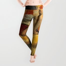 "William Blake ""Urizen depicted in Blake's watercoloured etching The Ancient of Days."" Leggings"