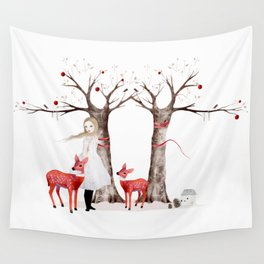 winter's tale Wall Tapestry