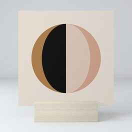 Mod Circle Abstract III Mini Art Print