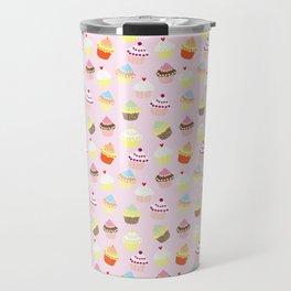 Cupcake Wonderland Travel Mug