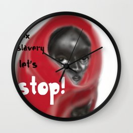 Let's Stop! Wall Clock