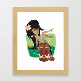 Belly Hai Framed Art Print
