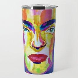 Frida Kahlo «Flowers» Travel Mug