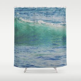 Curling Waters Shower Curtain