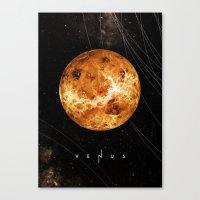venus Canvas Prints featuring VENUS by Alexander Pohl