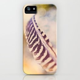 Let the wind carry you iPhone Case