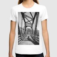 bridge T-shirts featuring Bridge by Danielle Podeszek