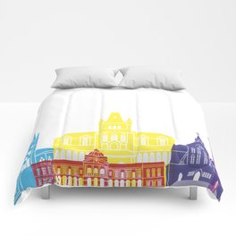 Georgetown skyline pop Comforters