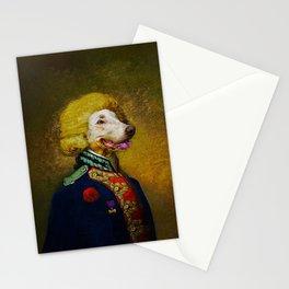 Portrait of Viscount Brock de Wiemer Stationery Cards