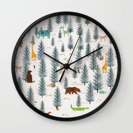little nature Wall Clock