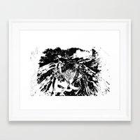 moth Framed Art Prints featuring Moth by Shane R. Murphy
