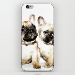 French Bulldogs iPhone Skin