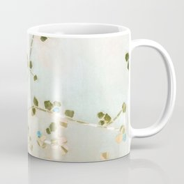 mosaica glitterati in blue + gold Coffee Mug