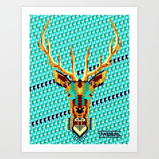 Bambi Stardust Art Print