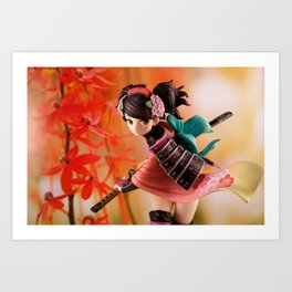 Beautiful Warrior Art Print