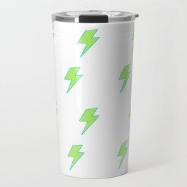 Bolt- Lime Green Travel Mug