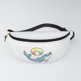 Dolphin at Swimming with Water polo Fanny Pack
