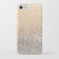 skull iPhone & iPod Cases featuring  GOLD by Monika Strigel®