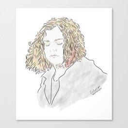 -Clarke- Canvas Print