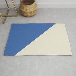 Blue Right Angle Rug