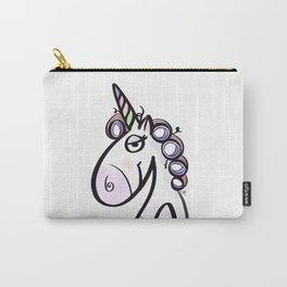 Unicorn Gladys Carry-All Pouch