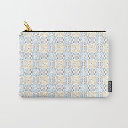 Beige Moroccan Tiles Spanish Tiles Bathroom Tile Decal Cottage Chic Portuguese tiles Carry-All Pouch